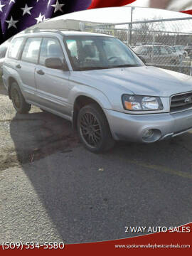 2004 Subaru Forester for sale at 2 Way Auto Sales in Spokane Valley WA