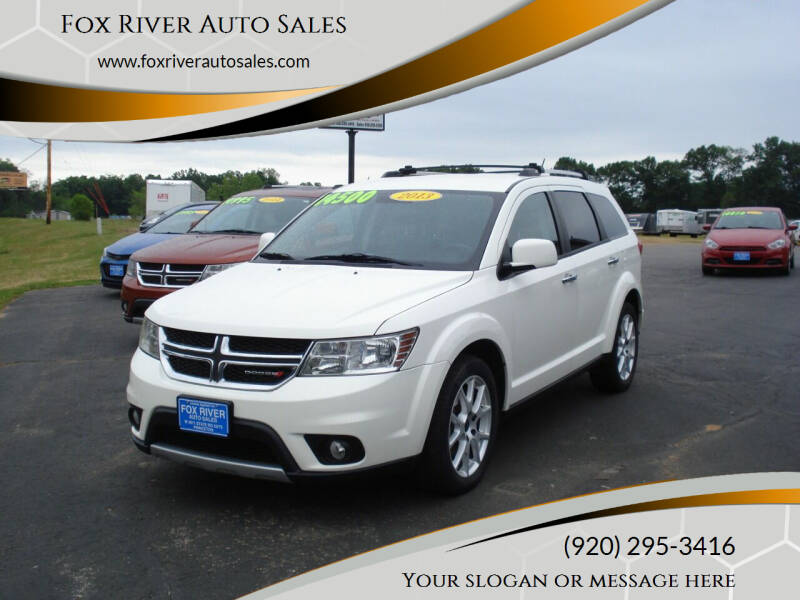 2013 Dodge Journey for sale at Fox River Auto Sales in Princeton WI