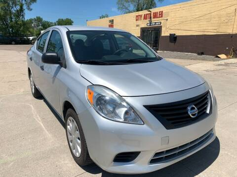 2012 Nissan Versa for sale at City Auto Sales in Roseville MI