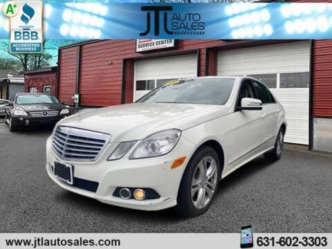 2011 Mercedes-Benz E-Class for sale at JTL Auto Inc in Selden NY
