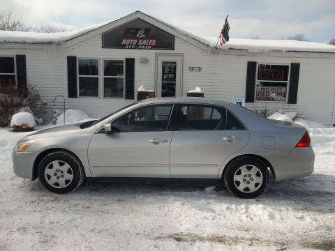 2007 Honda Accord for sale at R & L AUTO SALES in Mattawan MI