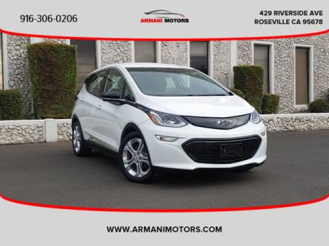 2018 Chevrolet Bolt EV for sale at Armani Motors in Roseville CA