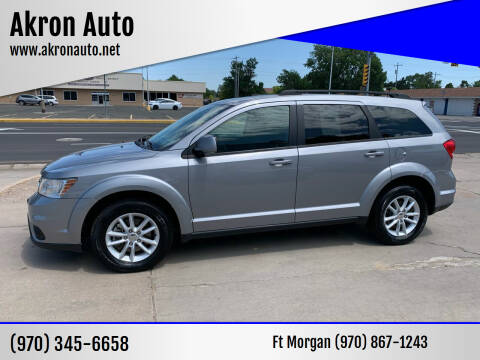 2016 Dodge Journey for sale at Akron Auto - Fort Morgan in Fort Morgan CO