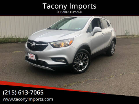 2017 Buick Encore for sale at Tacony Imports in Philadelphia PA