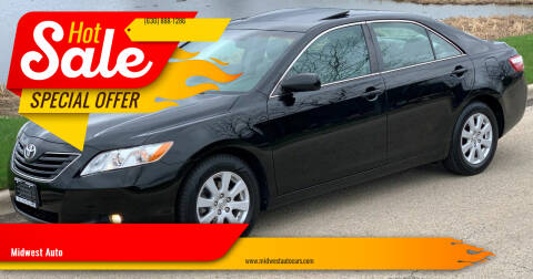 2007 Toyota Camry for sale at Midwest Auto in Naperville IL