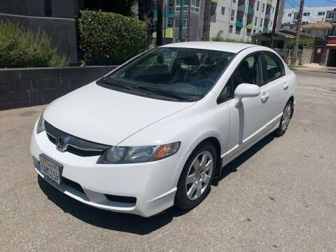 2010 Honda Civic for sale at FJ Auto Sales North Hollywood in North Hollywood CA