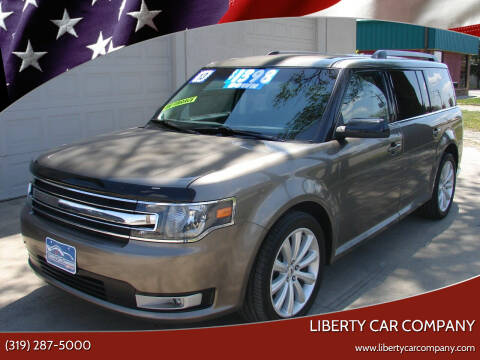 2013 Ford Flex for sale at Liberty Car Company - II in Waterloo IA
