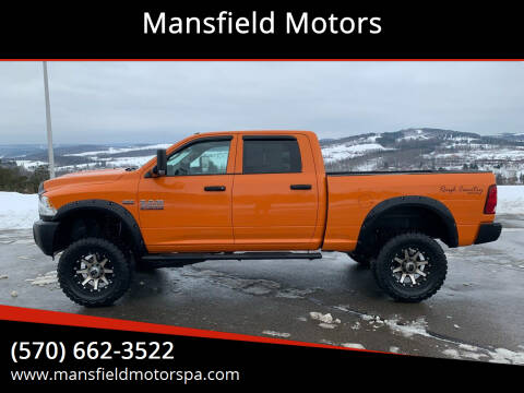 2014 RAM Ram Pickup 3500 for sale at Mansfield Motors in Mansfield PA