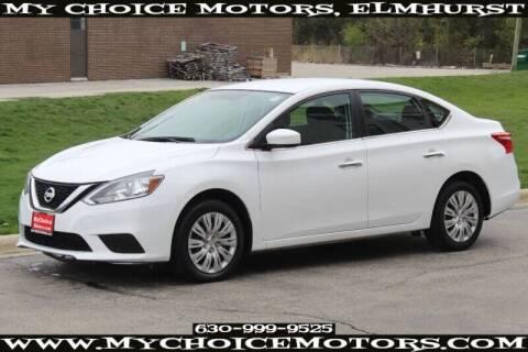2016 Nissan Sentra for sale at My Choice Motors Elmhurst in Elmhurst IL