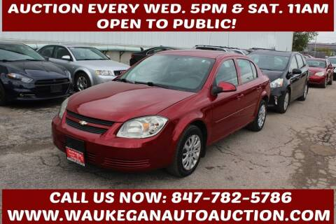 2010 Chevrolet Cobalt for sale at Waukegan Auto Auction in Waukegan IL