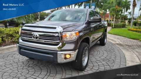 2016 Toyota Tundra for sale at Real Motors LLC in Clearwater FL