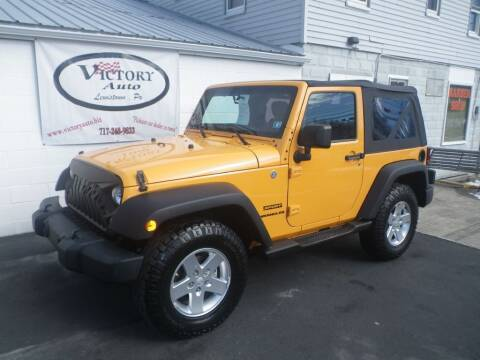 2012 Jeep Wrangler for sale at VICTORY AUTO in Lewistown PA