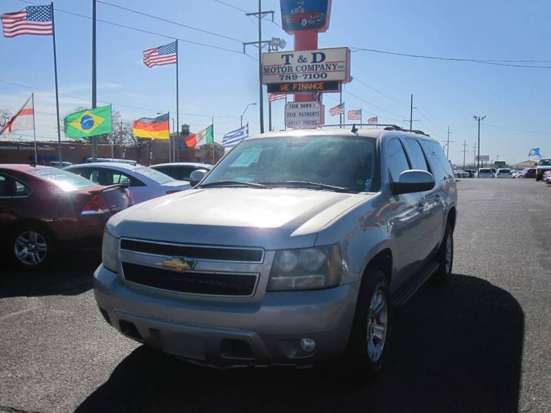 2007 Chevrolet Suburban for sale at T & D Motor Company in Bethany OK