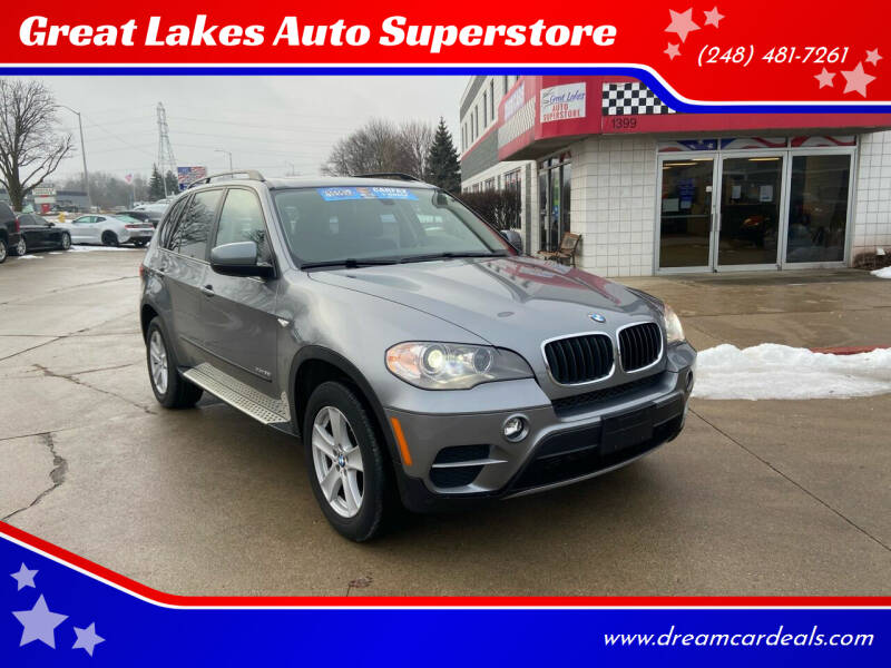 2013 BMW X5 for sale at Great Lakes Auto Superstore in Pontiac MI