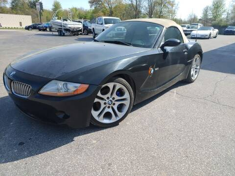 2003 BMW Z4 for sale at Cruisin' Auto Sales in Madison IN