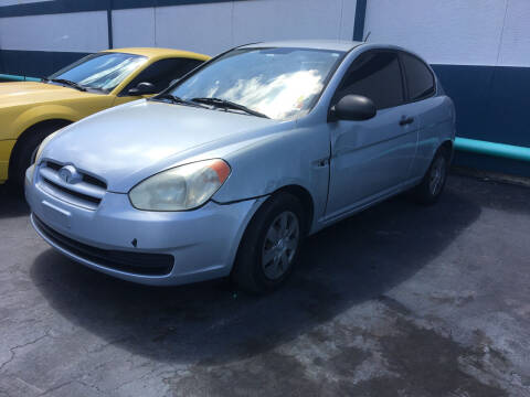 2007 Hyundai Accent for sale at CAR-RIGHT AUTO SALES INC in Naples FL