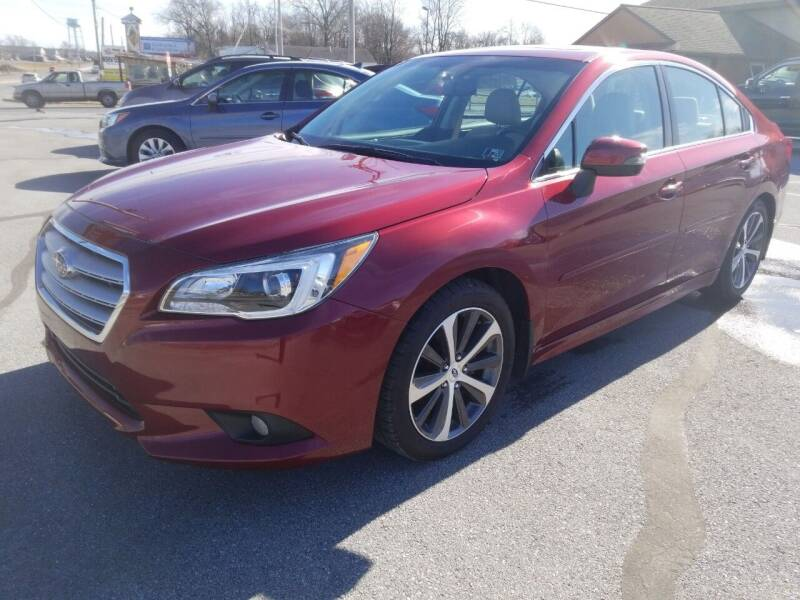 2016 Subaru Legacy for sale at Perry Auto Service & Sales in Shoemakersville PA