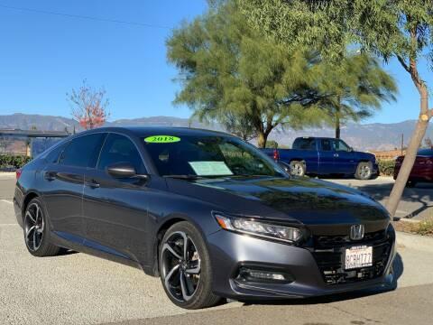 2018 Honda Accord for sale at Esquivel Auto Depot in Rialto CA