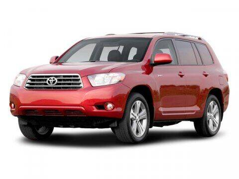 2008 Toyota Highlander for sale at HILAND TOYOTA in Moline IL