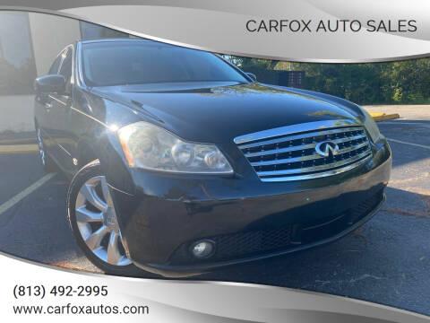 2007 Infiniti M35 for sale at Carfox Auto Sales in Tampa FL