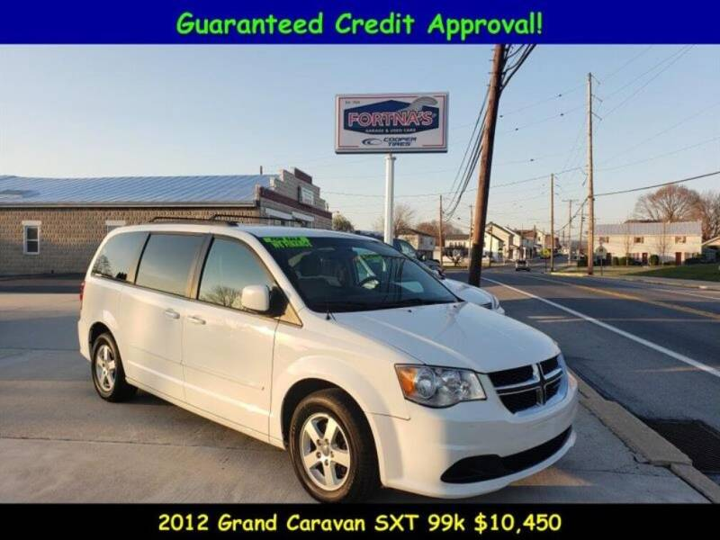 2012 Dodge Grand Caravan for sale at Fortnas Used Cars in Jonestown PA