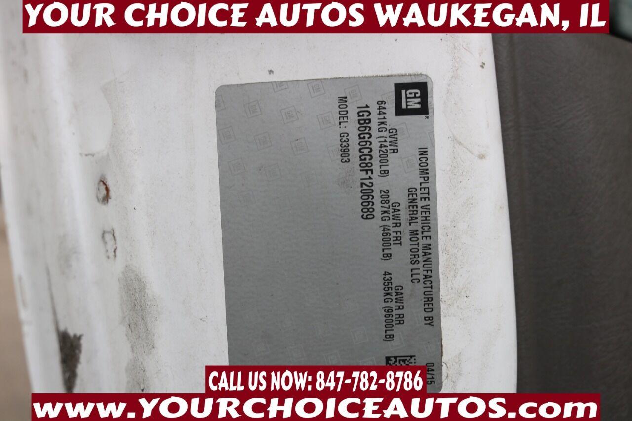 ChevroletExpress Cutaway33