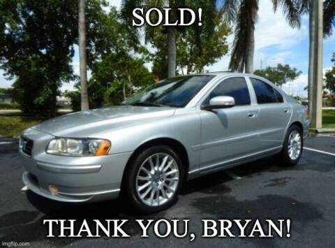 2007 Volvo S60 for sale at VehicleVille in Fort Lauderdale FL