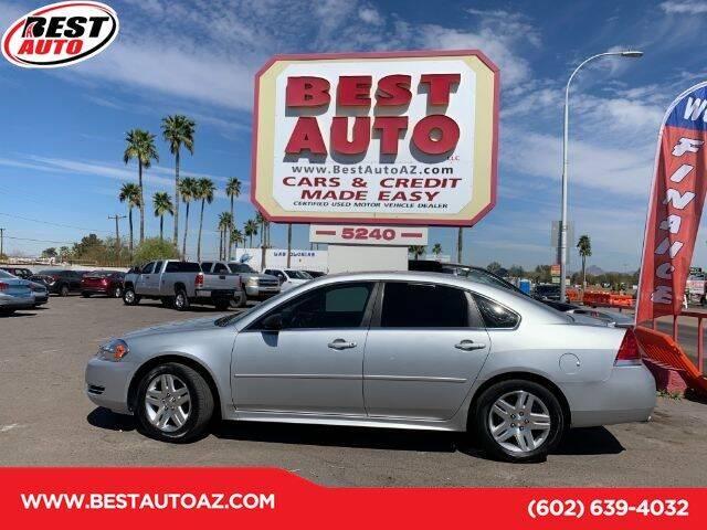 2012 Chevrolet Impala for sale in Glendale, AZ