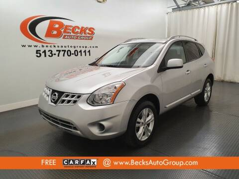 2012 Nissan Rogue for sale at Becks Auto Group in Mason OH