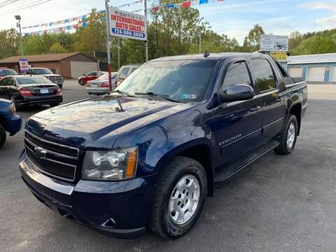 2009 Chevrolet Avalanche for sale at INTERNATIONAL AUTO SALES LLC in Latrobe PA