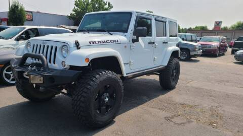 2015 Jeep Wrangler Unlimited for sale at Silverline Auto Boise in Meridian ID
