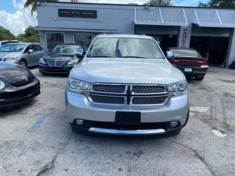 2011 Dodge Durango for sale at America Auto Wholesale Inc in Miami FL
