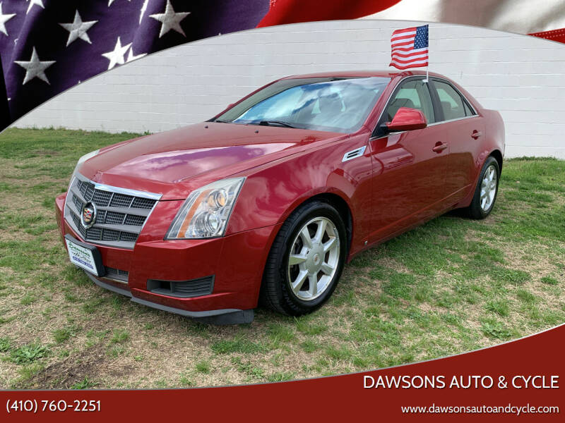 2009 Cadillac CTS for sale at Dawsons Auto & Cycle in Glen Burnie MD