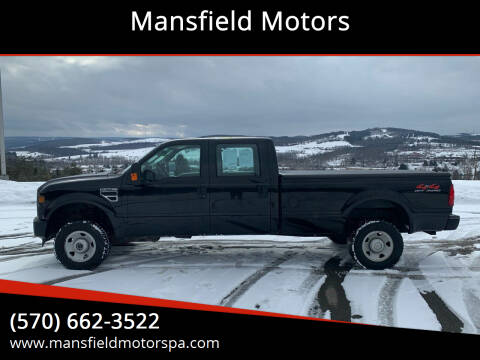 2008 Ford F-350 Super Duty for sale at Mansfield Motors in Mansfield PA