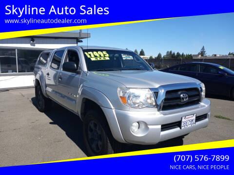 2007 Toyota Tacoma for sale at Skyline Auto Sales in Santa Rosa CA