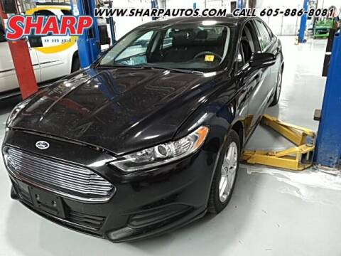 2013 Ford Fusion for sale at Sharp Automotive in Watertown SD