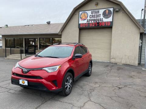 2017 Toyota RAV4 for sale at Utah Credit Approval Auto Sales in Murray UT