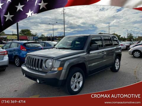 2013 Jeep Patriot for sale at Cromax Automotive in Ann Arbor MI