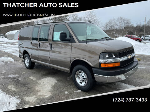 2016 Chevrolet Express Cargo for sale at THATCHER AUTO SALES in Export PA