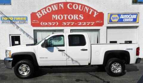 2010 Chevrolet Silverado 2500HD for sale at Brown County Motors in Russellville OH
