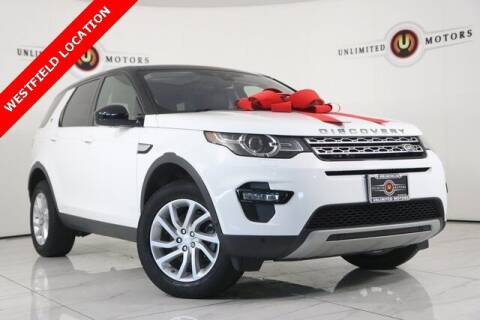 2018 Land Rover Discovery Sport for sale at INDY'S UNLIMITED MOTORS - UNLIMITED MOTORS in Westfield IN