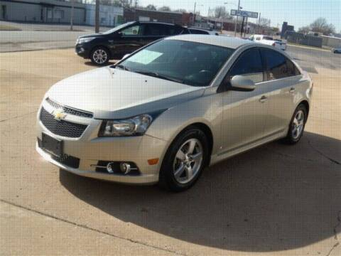 2013 Chevrolet Cruze for sale at PERL AUTO CENTER in Coffeyville KS