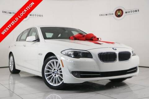 2013 BMW 5 Series for sale at INDY'S UNLIMITED MOTORS - UNLIMITED MOTORS in Westfield IN