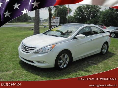 2012 Hyundai Sonata for sale at HOGSTEN AUTO WHOLESALE in Ocala FL