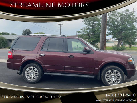 2011 Ford Expedition for sale at Streamline Motors in Billings MT