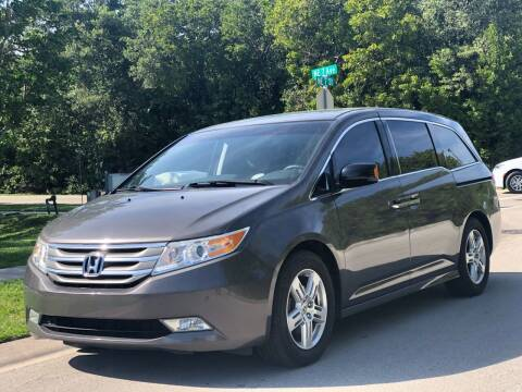 2011 Honda Odyssey for sale at L G AUTO SALES in Boynton Beach FL