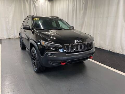 2020 Jeep Cherokee for sale at Monster Motors in Michigan Center MI