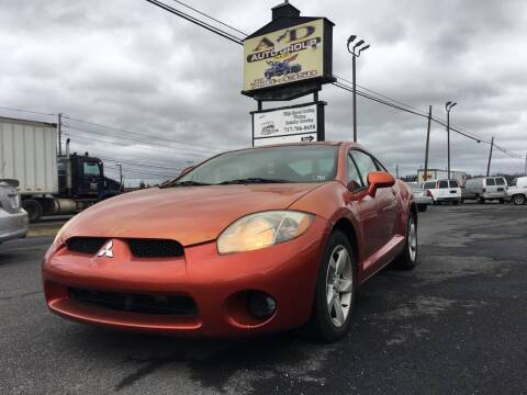 2006 Mitsubishi Eclipse for sale at A & D Auto Group LLC in Carlisle PA
