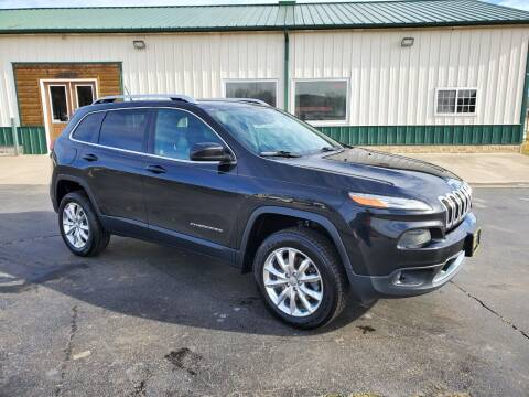 2015 Jeep Cherokee for sale at Farmington Auto Plaza in Farmington MO