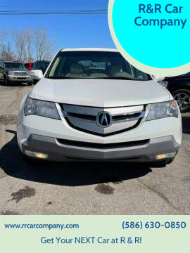 2009 Acura MDX for sale at R&R Car Company in Mount Clemens MI